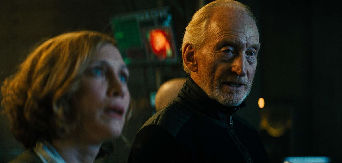 Vera Farmiga (left) and Charles Dance (right).
