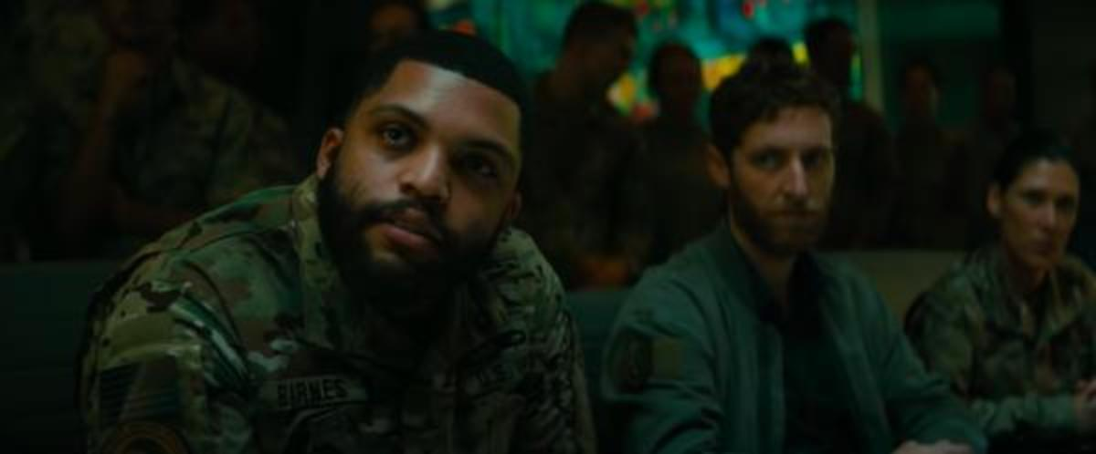 O'Shea Jackson Jr. (left) and Thomas Middleditch (right).