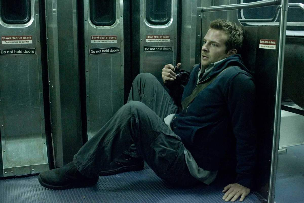 "Leon (Bradley Cooper) puts his life on the line for his work in, ""The Midnight Meat Train."""
