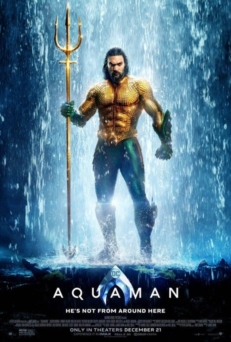 Jason Mamoa as Aquaman/Arthur Curry