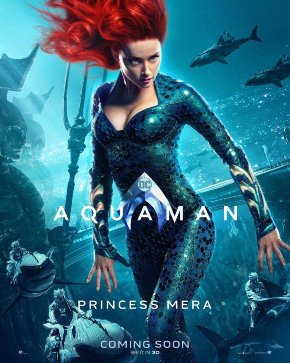 Amber Heard as Princess Mera