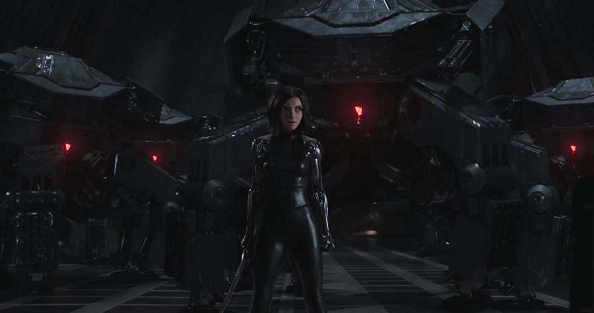 This scene with Alita vs. an army of ED-209s was actually pretty sweet.