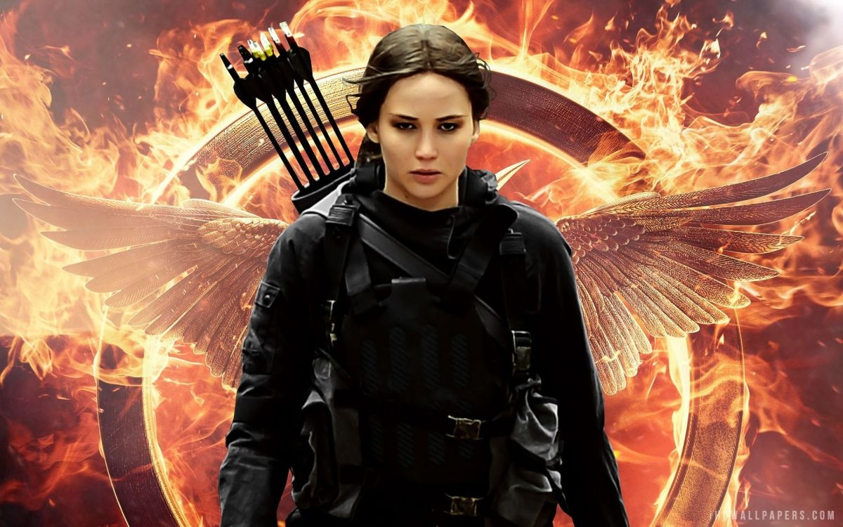 Here comes the Mockingjay!
