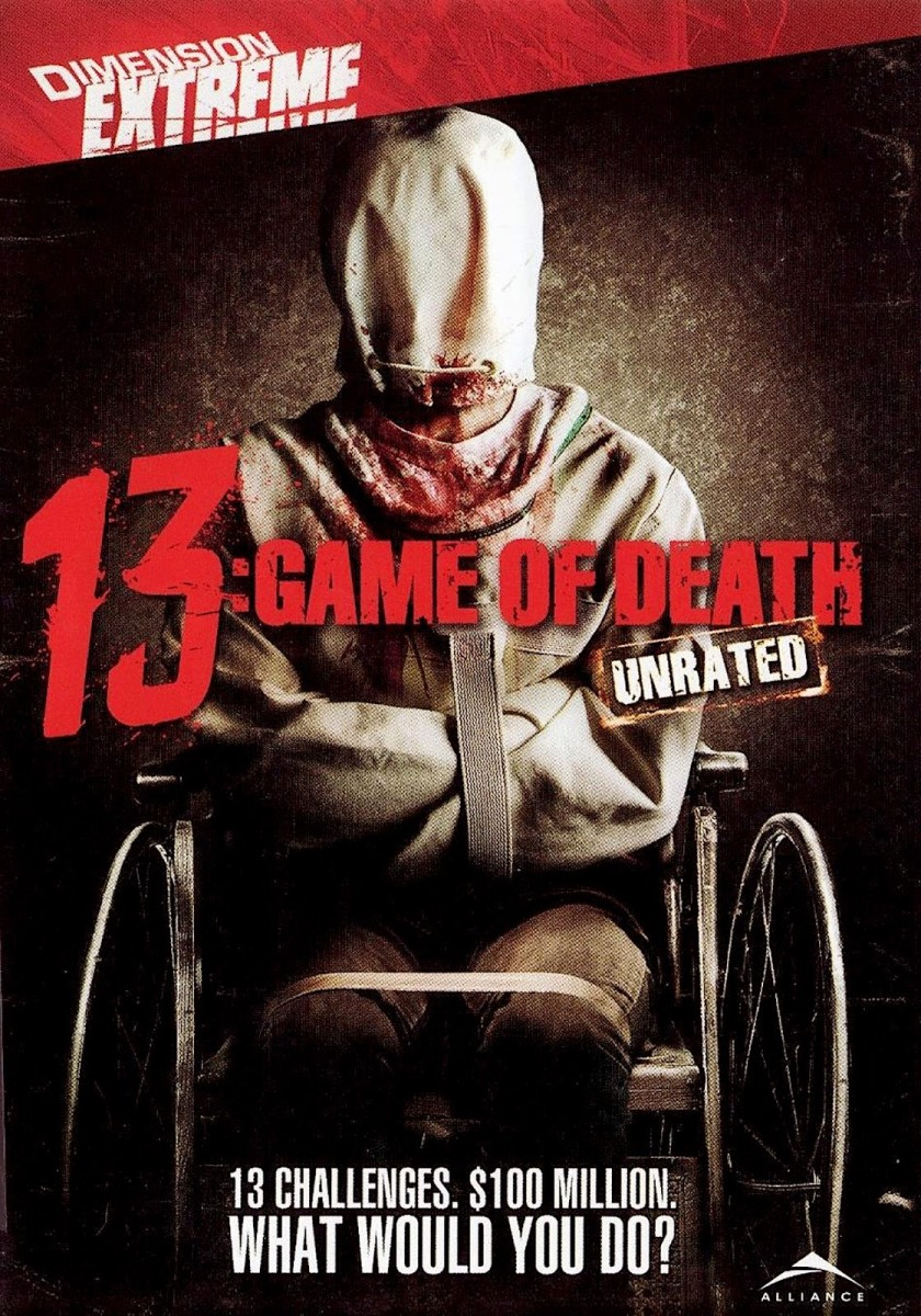 "The official DVD cover for, ""13: Game of Death."""