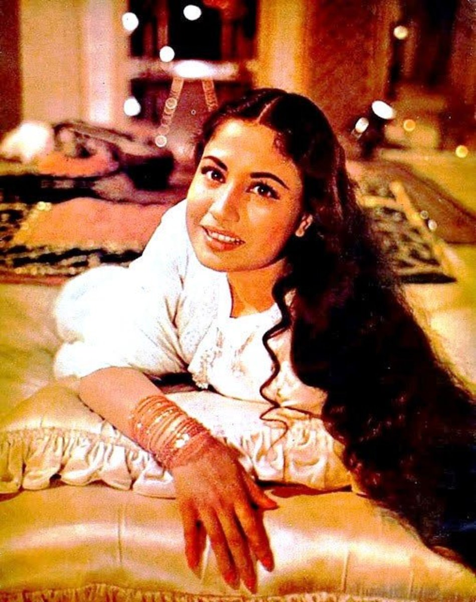 Meena Kumari from Pakeezah.