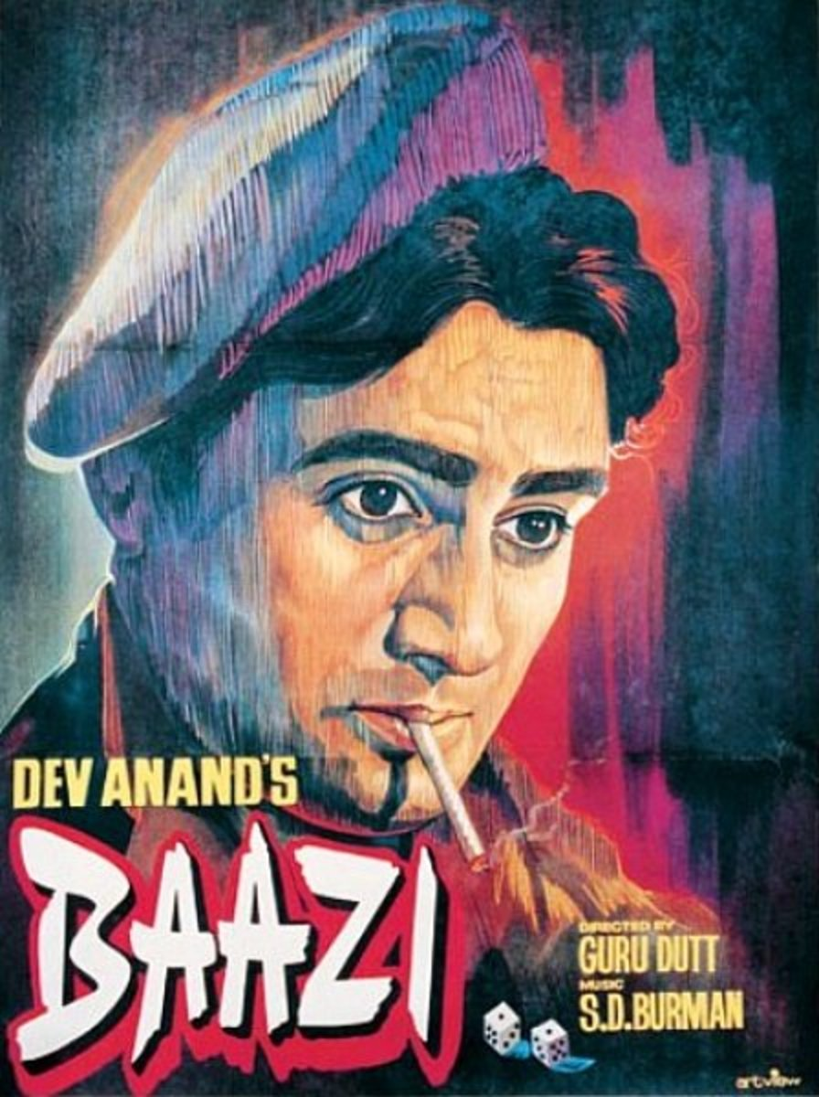 Poster of Baazi movie.