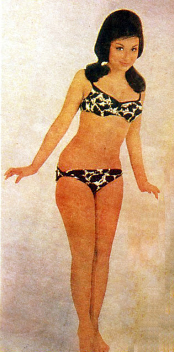 Sharmila donned a bikini in An Evening in Paris which became highlight of the movie.