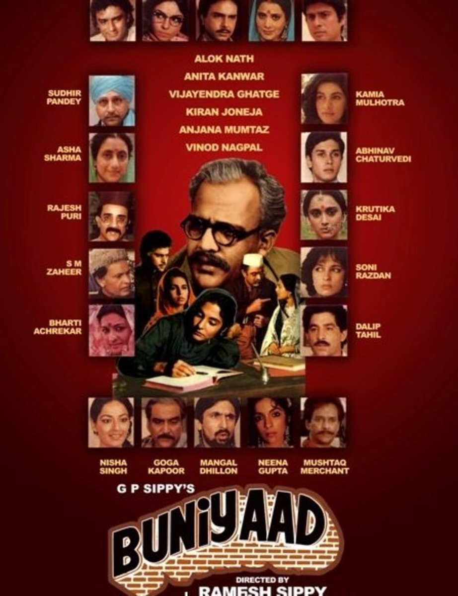 Buniyaad serial DVD cover