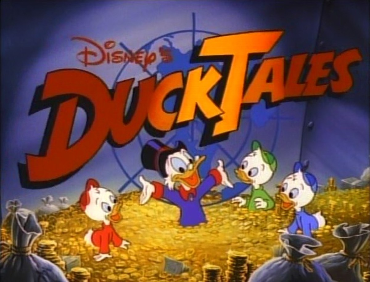 DVD/VCD cover of DuckTales