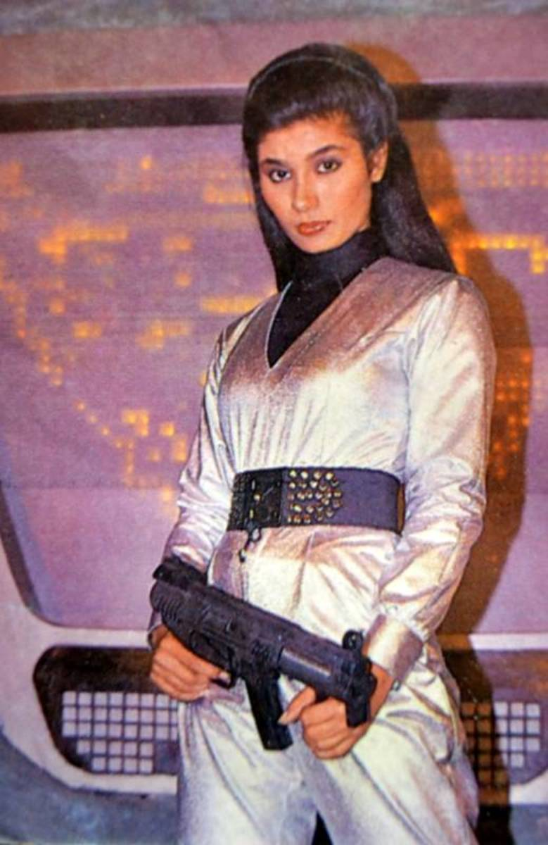 Heeri played by Savita Bhatia in Space City Sigma