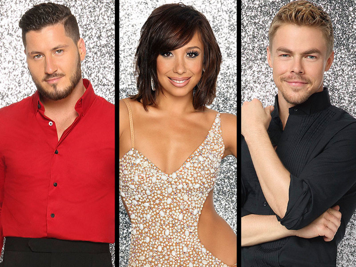 Dancing with the Stars Pros: Maksim Chmerkovskiy, Cheryl Burke, Derek Hough