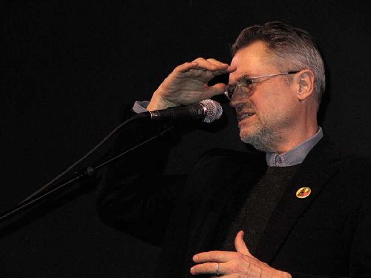 Jonathan Demme at Coolidge Corner Theatre in Brookline, Massachusetts, USA, 2010.