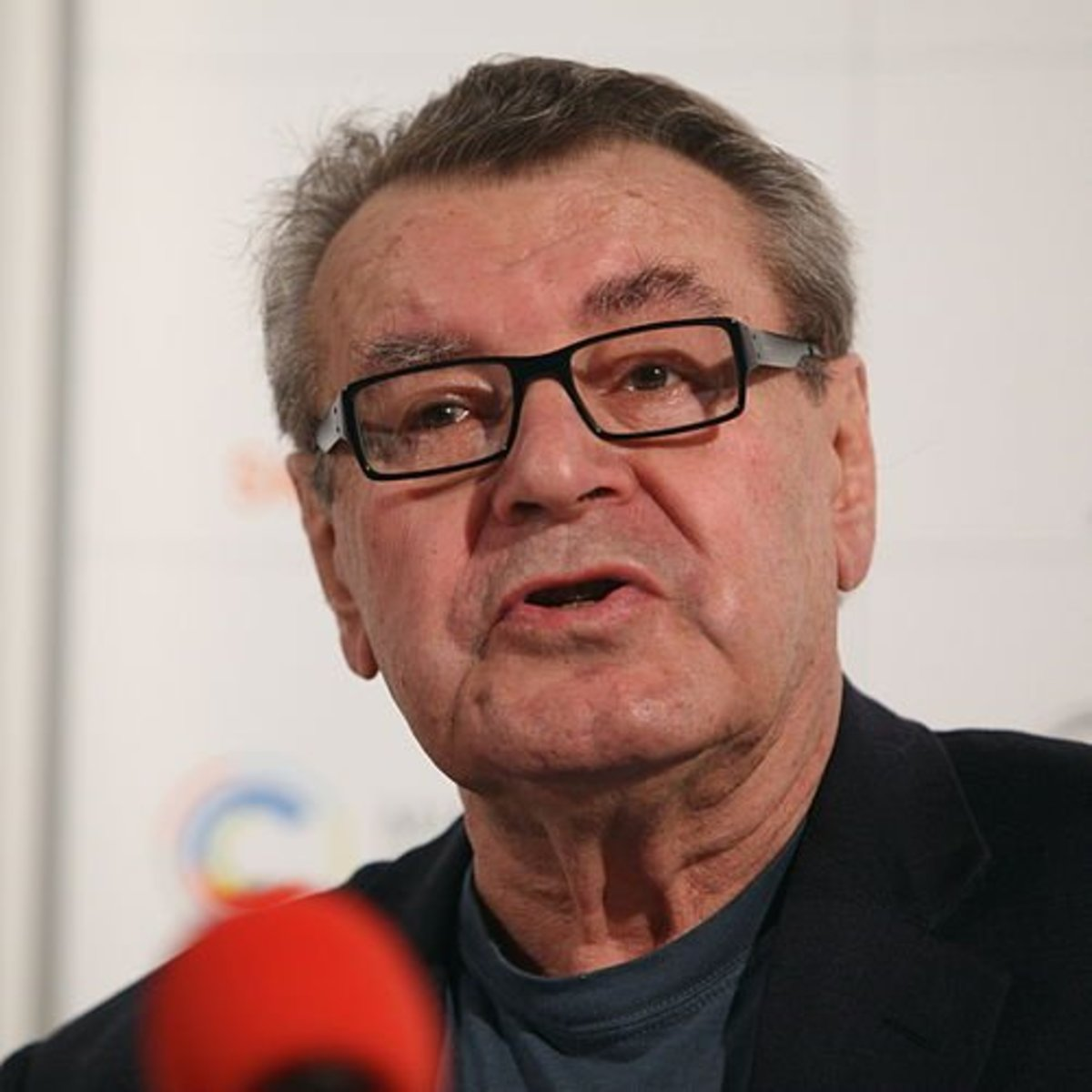 Milos Forman at the 44th Karlovy Vary International Film Festival 2009, Czech Republic.