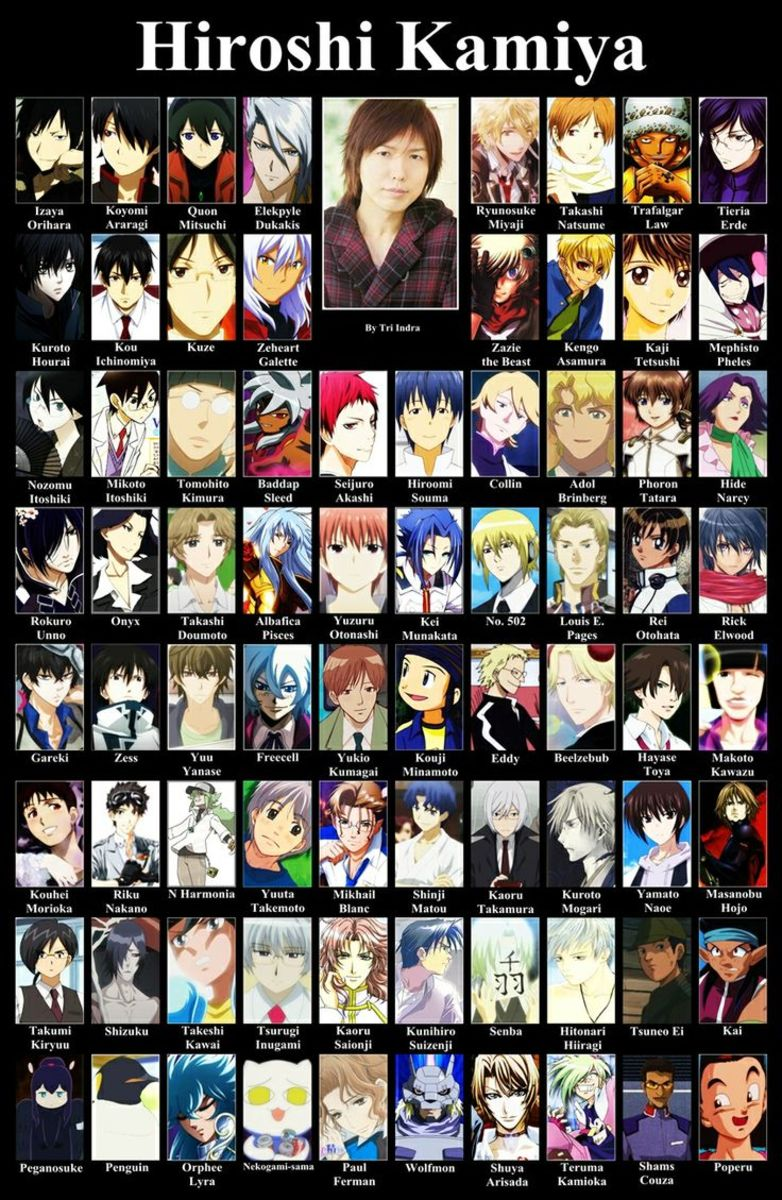 Anime Characters Japanese : Image gallery japanese anime character names