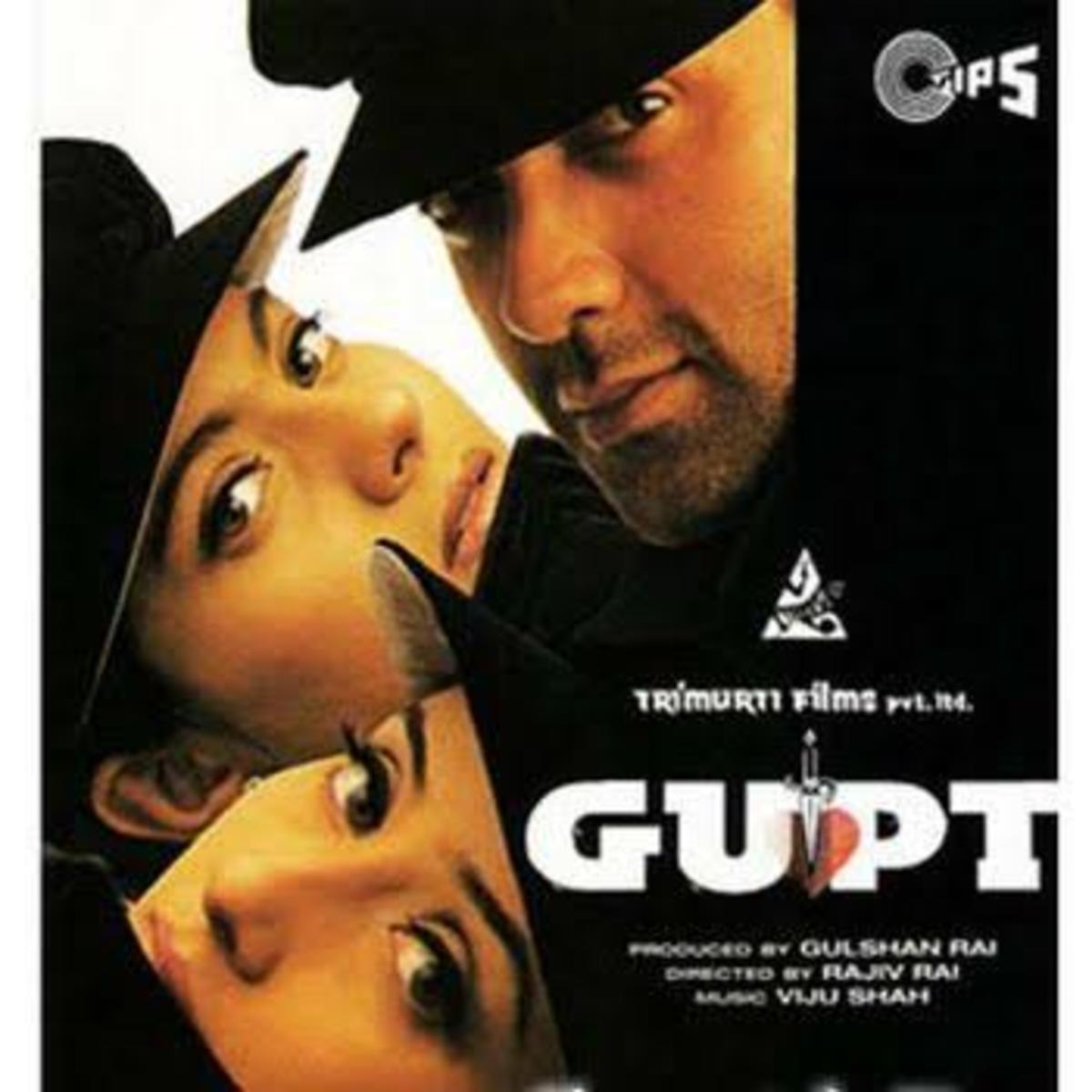 Gupt: The Hidden Truth theatrical release poster