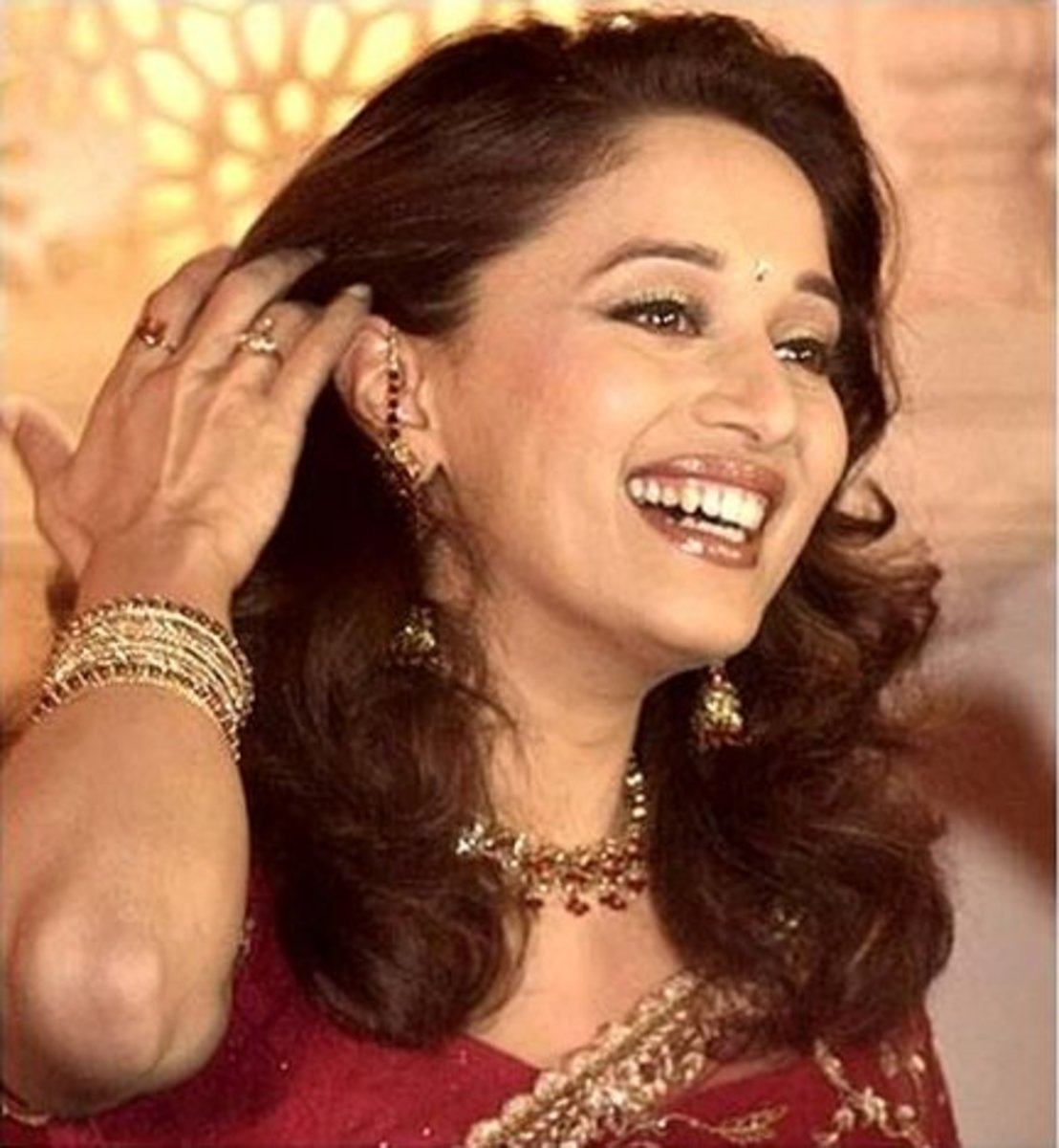Madhuri Dixit, the most iconic leading lady of the 90's.