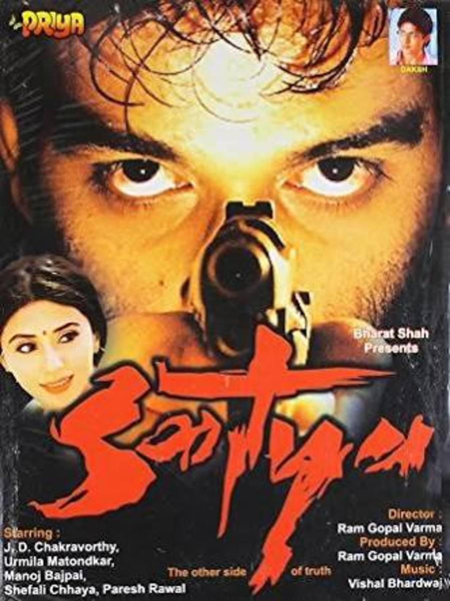 Satya made J.D Chakravarthy who plays the lead a one-hit wonder in Hindi cinema