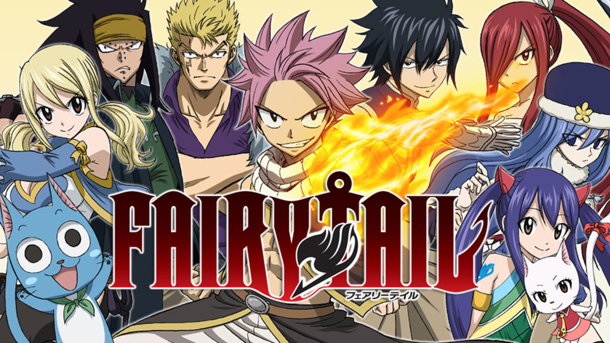 """""""Fairy Tale"""" is a very lighthearted anime that focuses on the importance of friendship."""