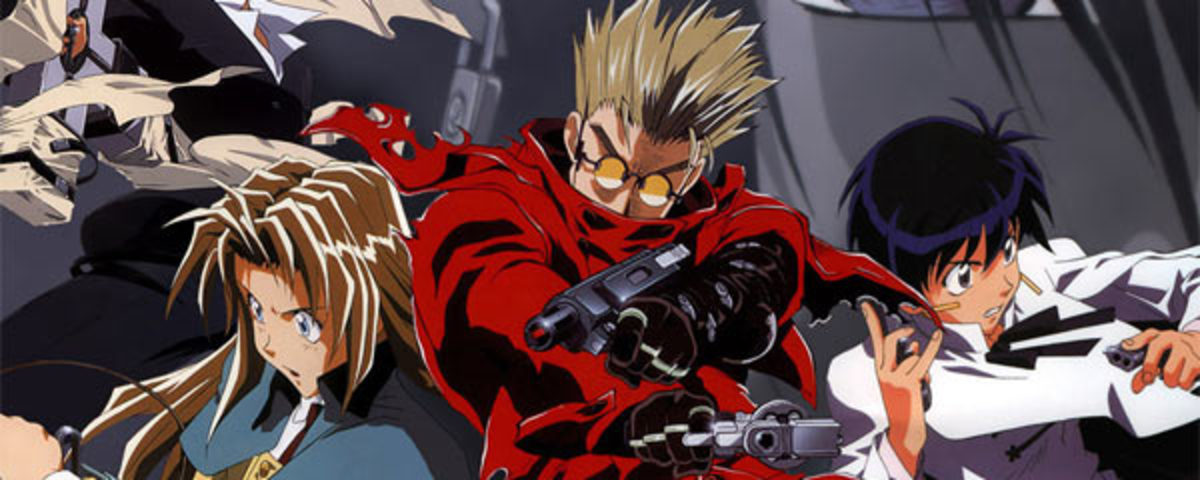 """Trigun"" is funny at times, but revolves around a much darker theme."
