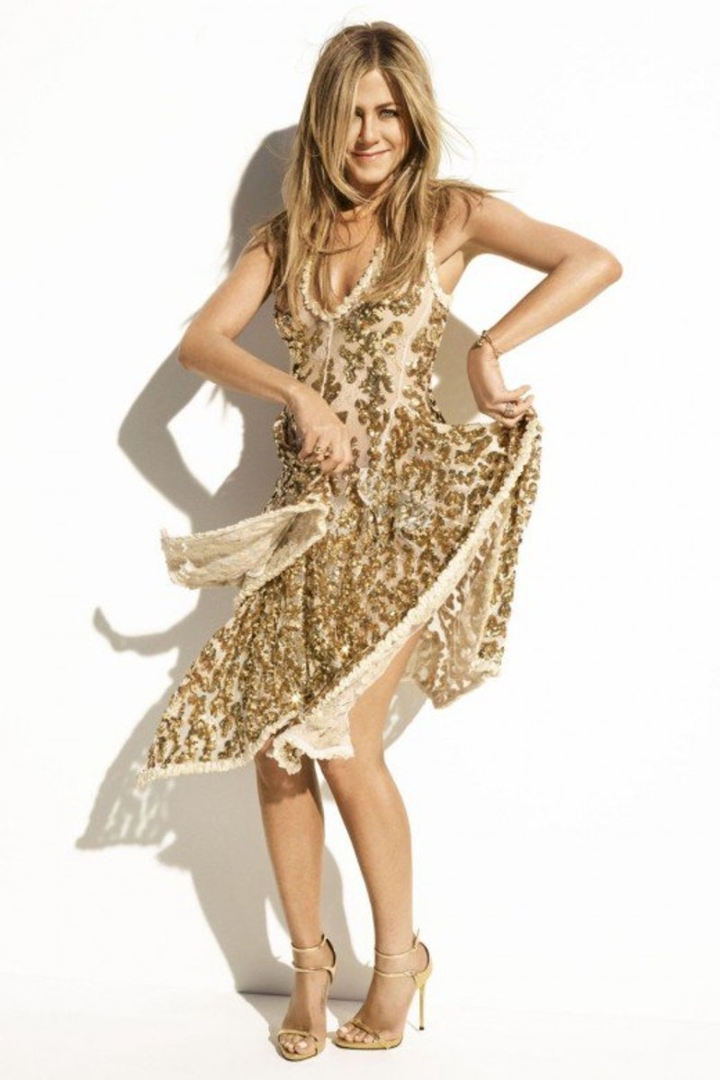 Fashionable Jennifer Aniston