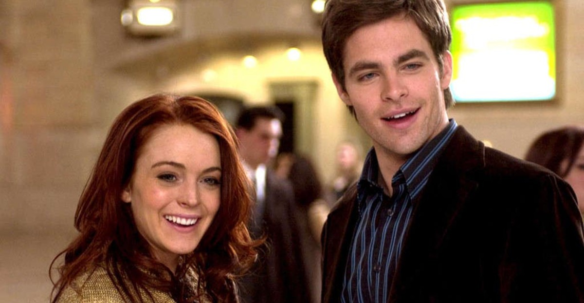 Pine's pairing with Lindsay Lohan in Just My Luck (2006) apparently didn't give the actress luck. Not only did it not make money, Lohan was awarded a Razzie and soon got back to smaller roles.