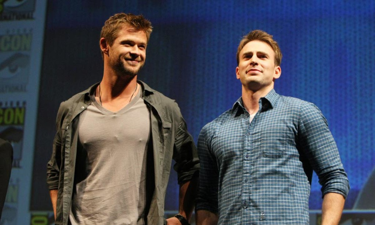Super-bromance, Hemsworth and Evans will again do battle beside each other in Avengers: Infinity War (2018).