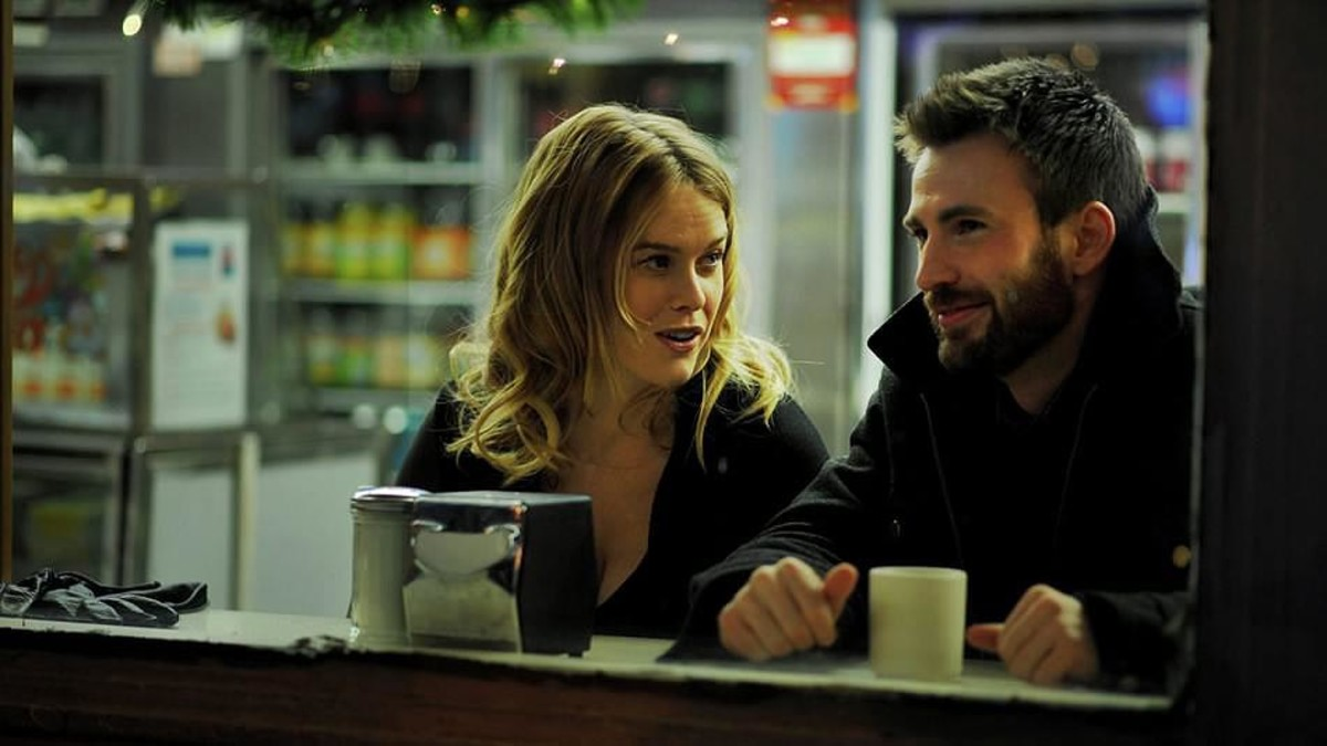 Evans starred with Alice Eve in Before We Go (2014).
