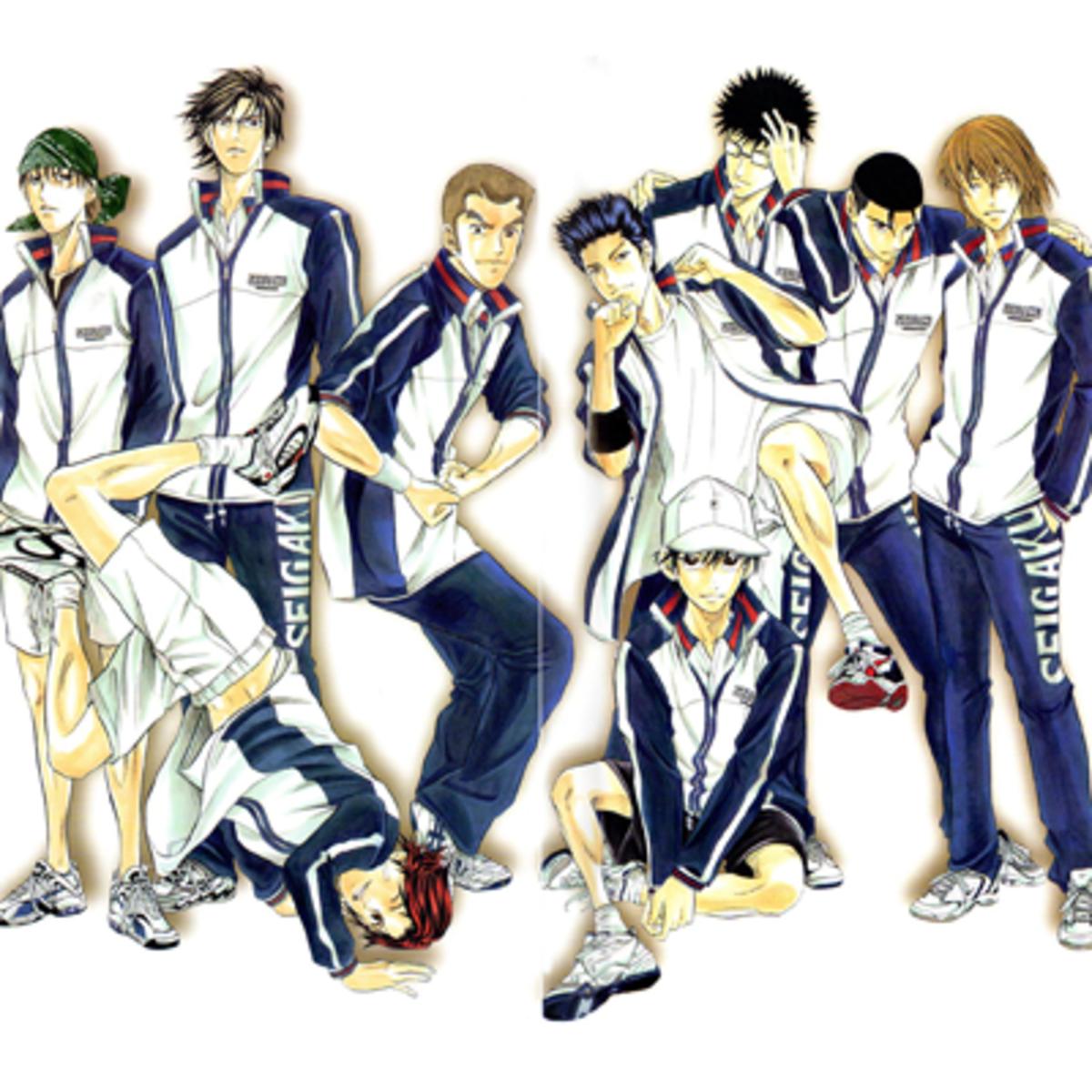 Seigaku tennis club.