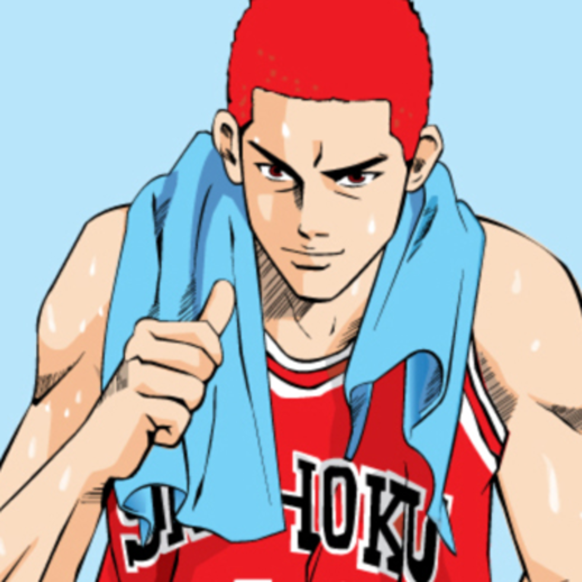 Hanamichi Sakuragi, Shohoku's secret weapon.