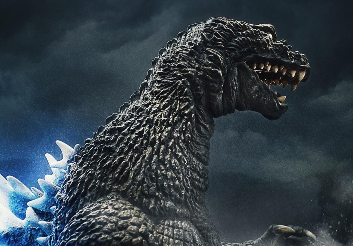 The resurrected Godzilla GMK