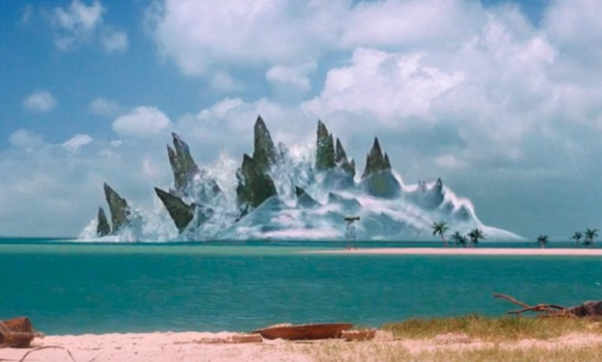 Godzilla was dormant in the ocean until awakened by man