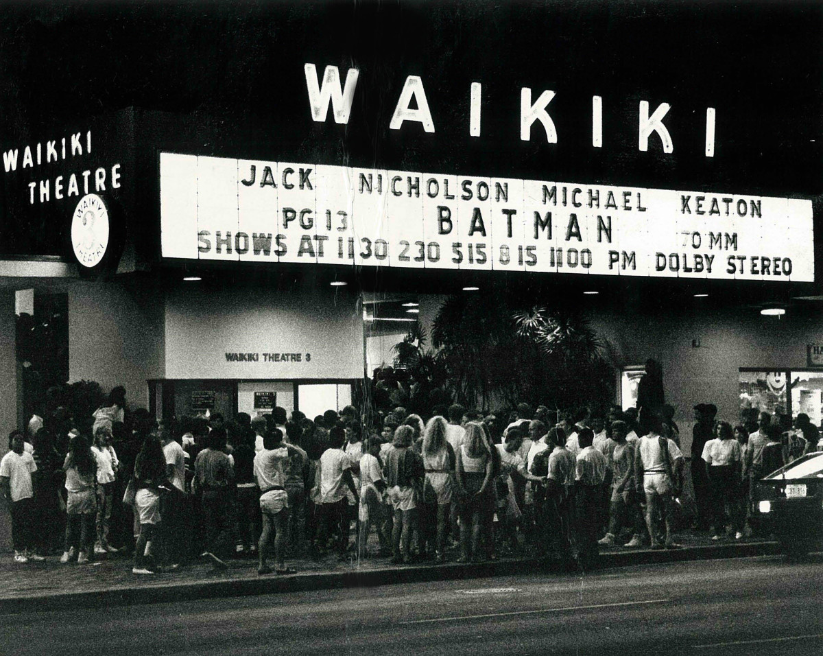 Tim Burton's Batman premiered on 6/23/1989