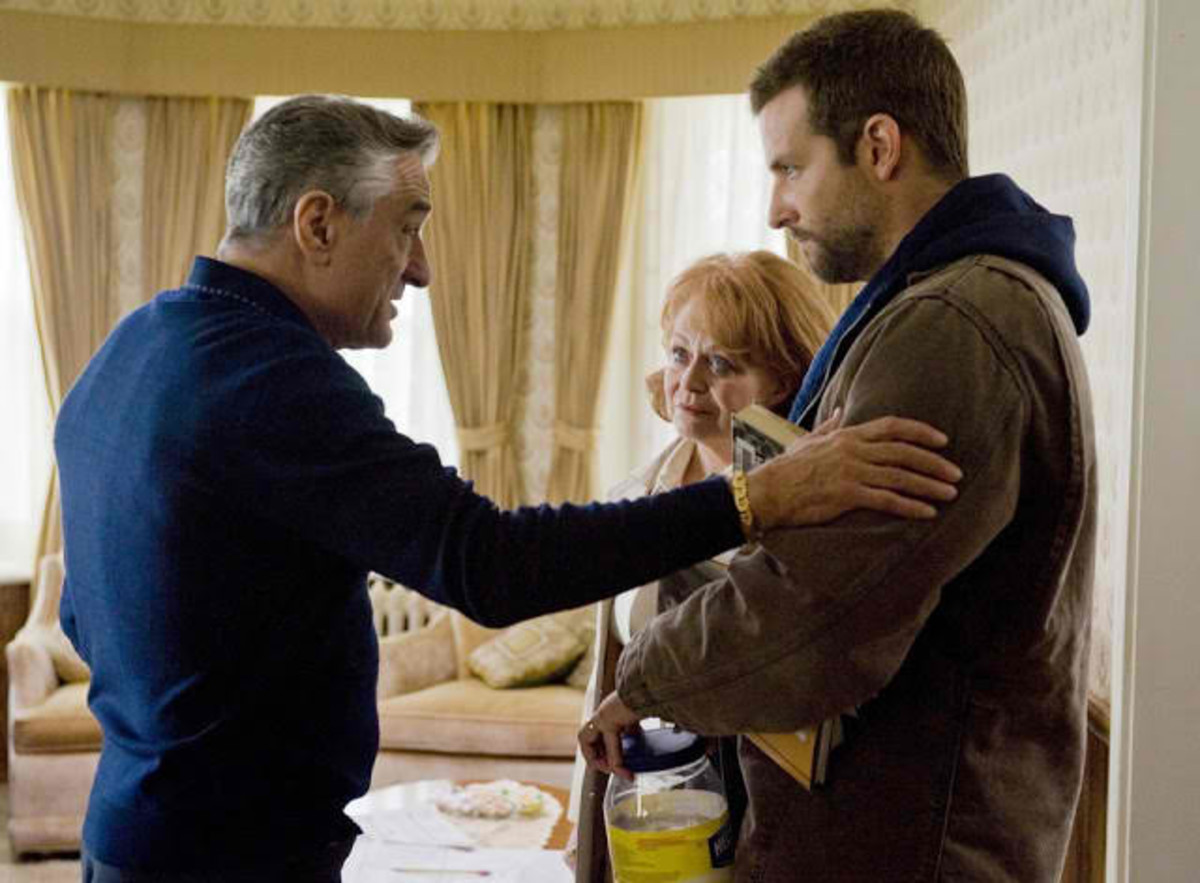 DeNiro played Bradley Cooper's dad in Silver Linings Playbook (2012), a movie critics love and a box-office success.