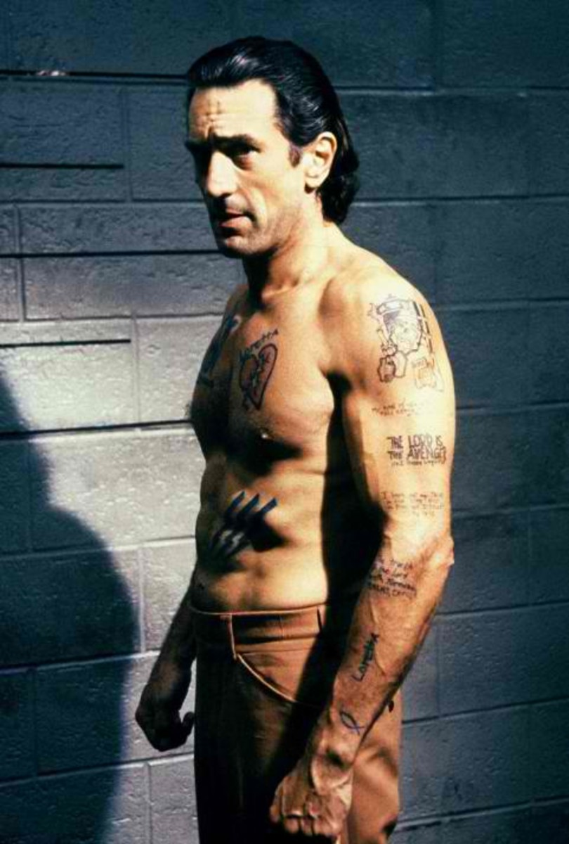 DeNiro's Max Cady (in Cape Fear, 1991) is in AFI's 50 Greatest Villains list.