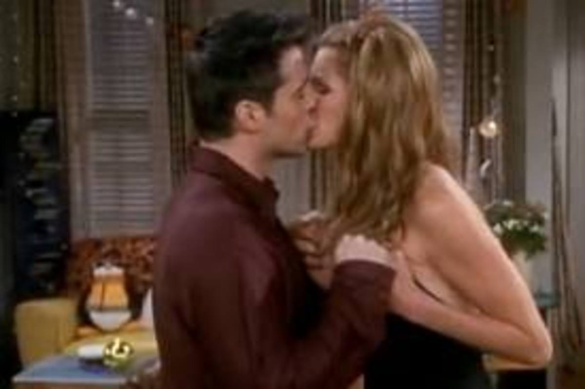 Joey and Janine. MY EYES.