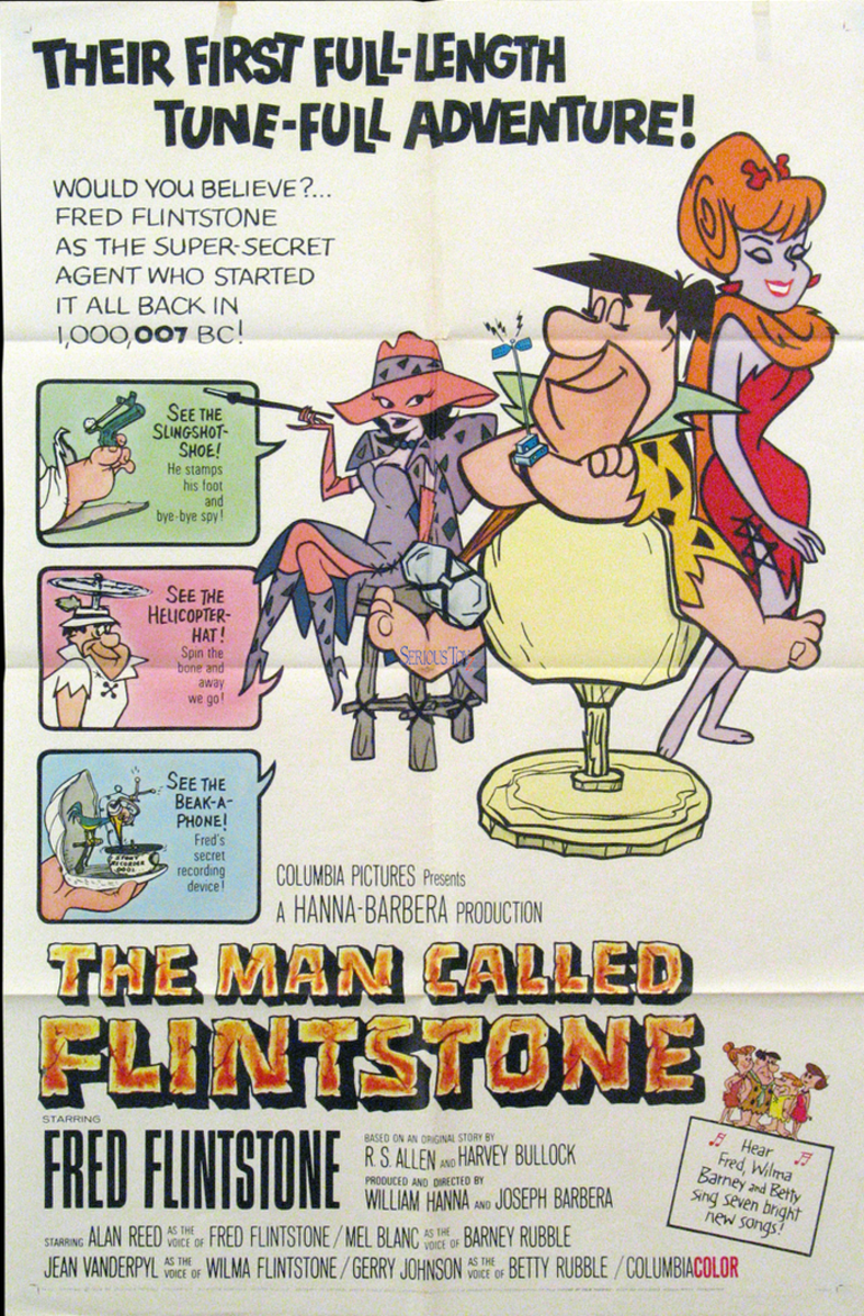 "The first Flintstones movie, ""The Man Called Flintstone"", released in 1966"