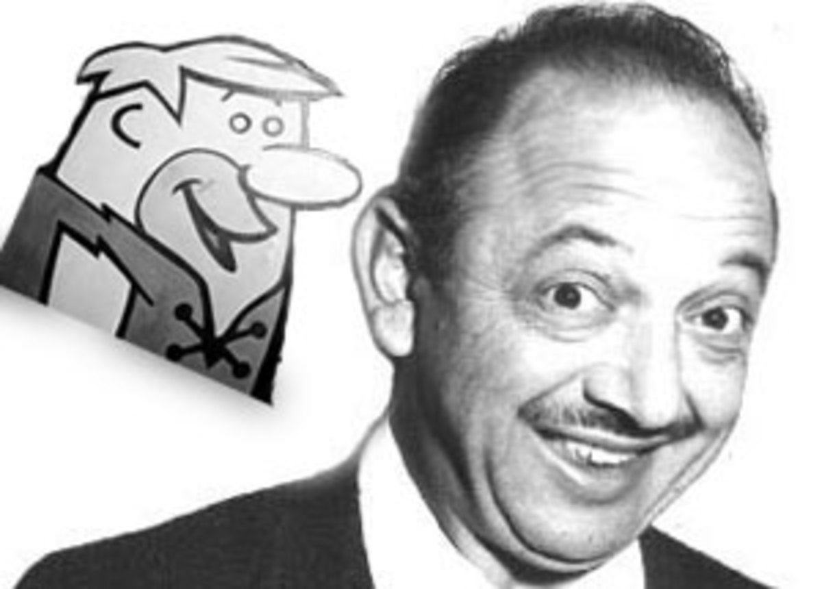 Legendary voice actor Mel Blanc made his transition to television with Barney Rubble