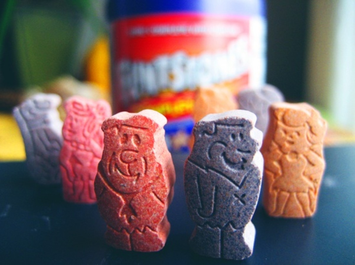 Flintstones Vitamins have been in production since 1968