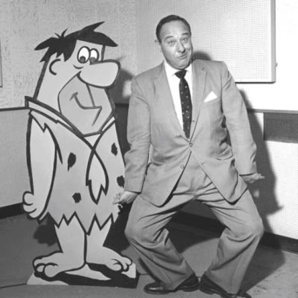 Fred Flintstone's voice actor Alan Scott