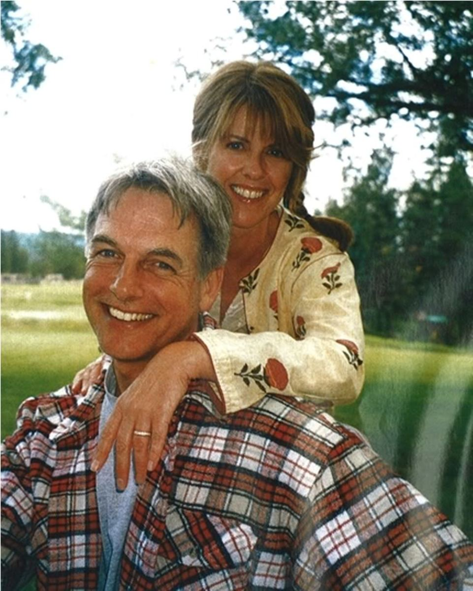 Mark Harmon and his long-time bride, Pam Dawber.