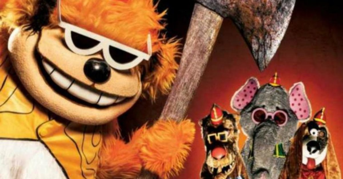 In an even more unexpected turn of events, the Banana Splits starred in their own horror movie in 2019.