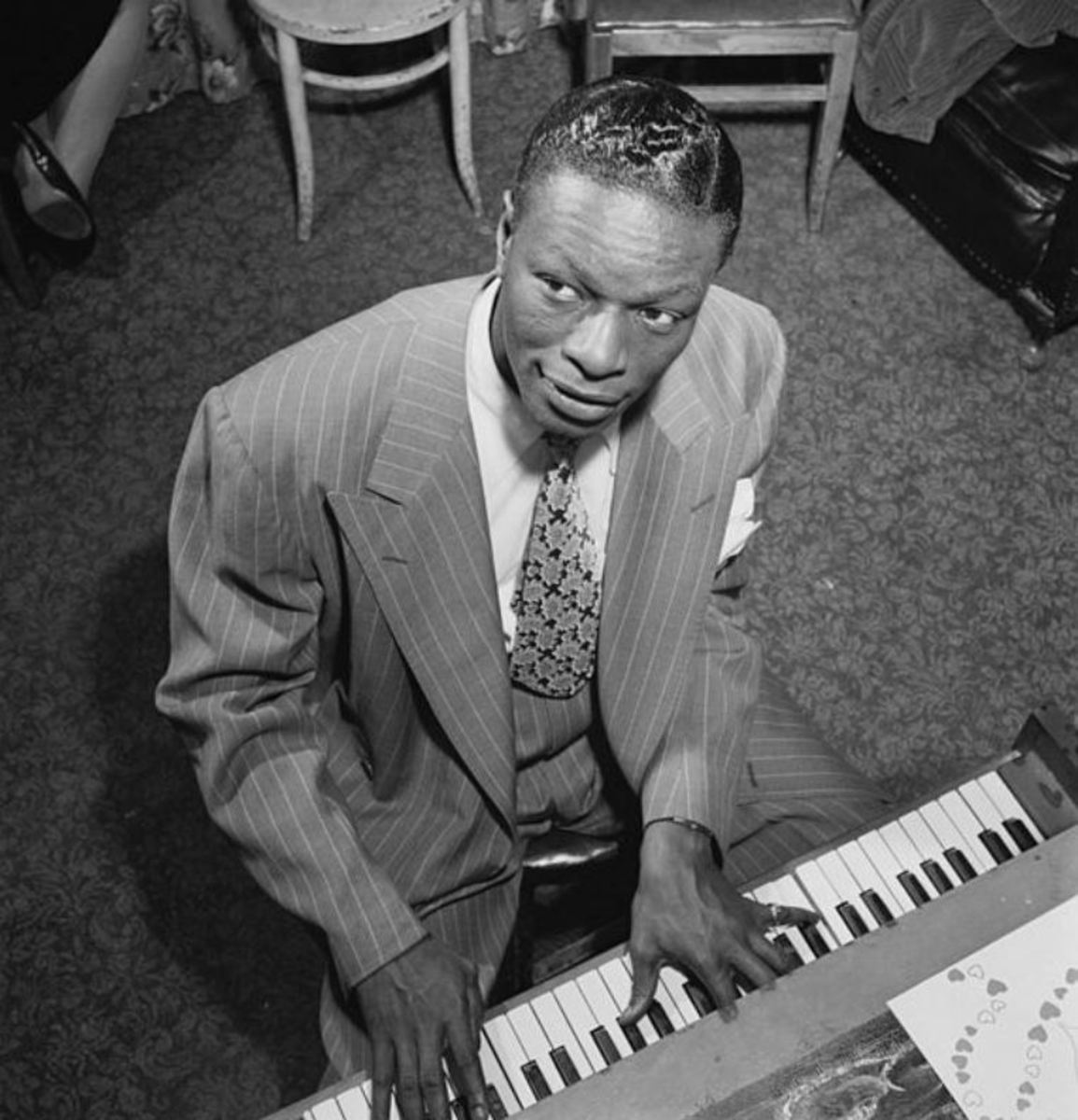 Nat King Cole the jazz pianist