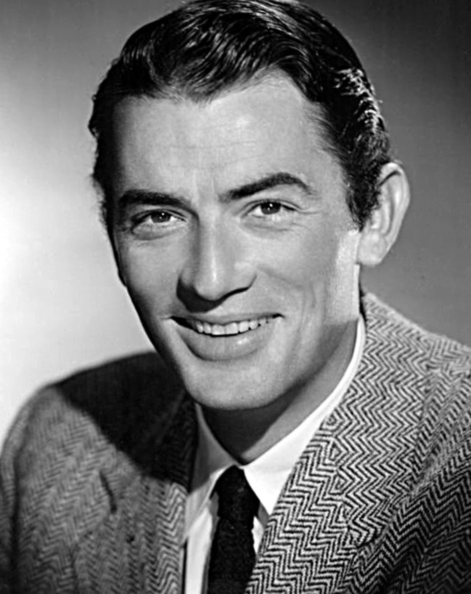 Studio portrait of Gregory Peck (1948)