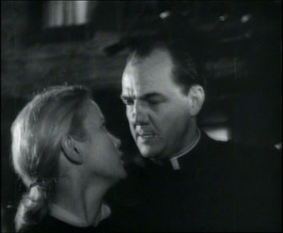 Karl Malden with Eva Marie Saint in the 1954 film On the Waterfront