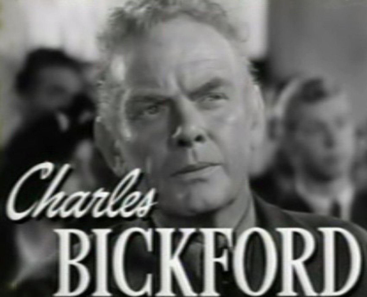 Charles Bickford, shown in a screenshot from the trailer for the 1948 film Johnny Belinda