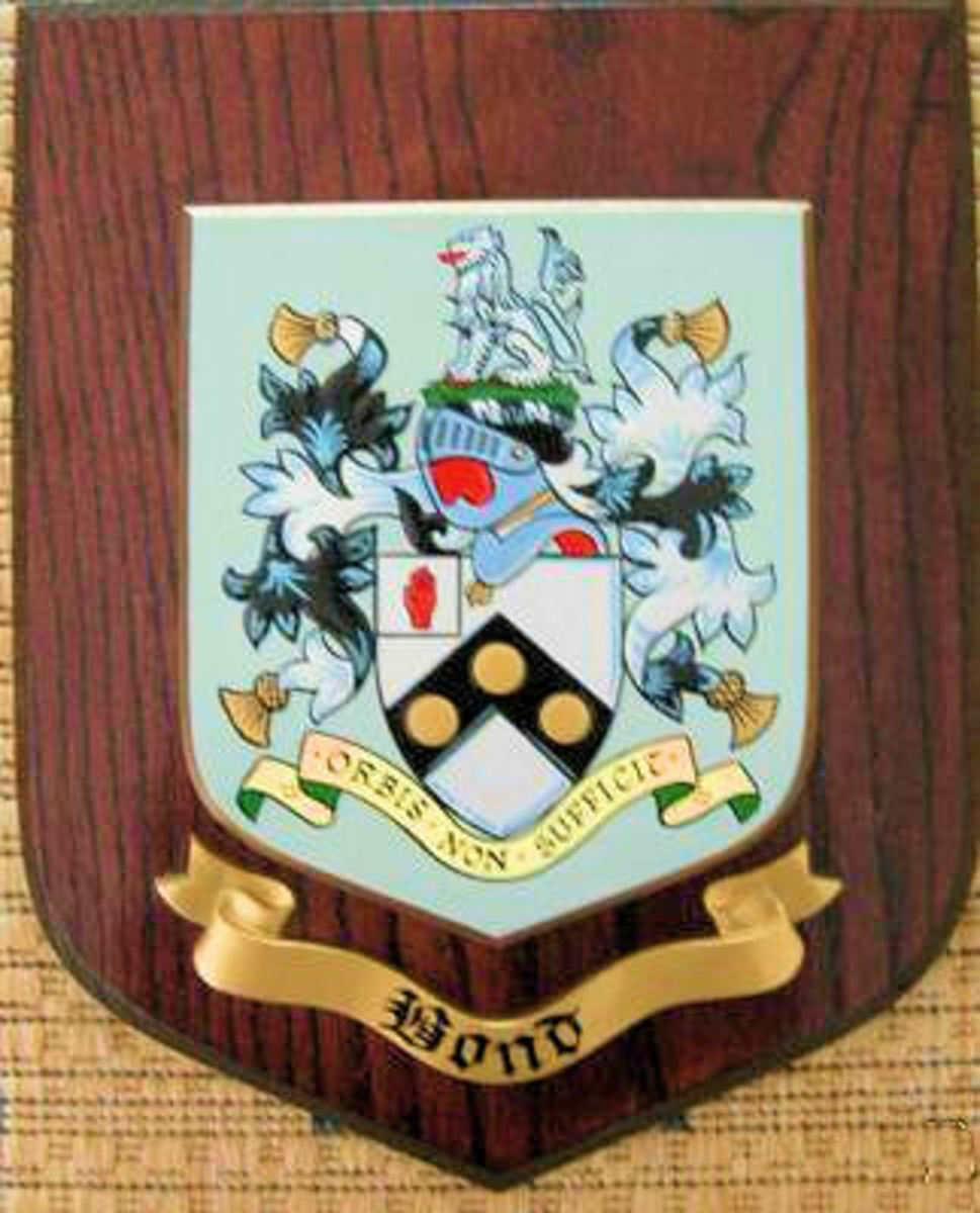 James Bond - Coat of Arms