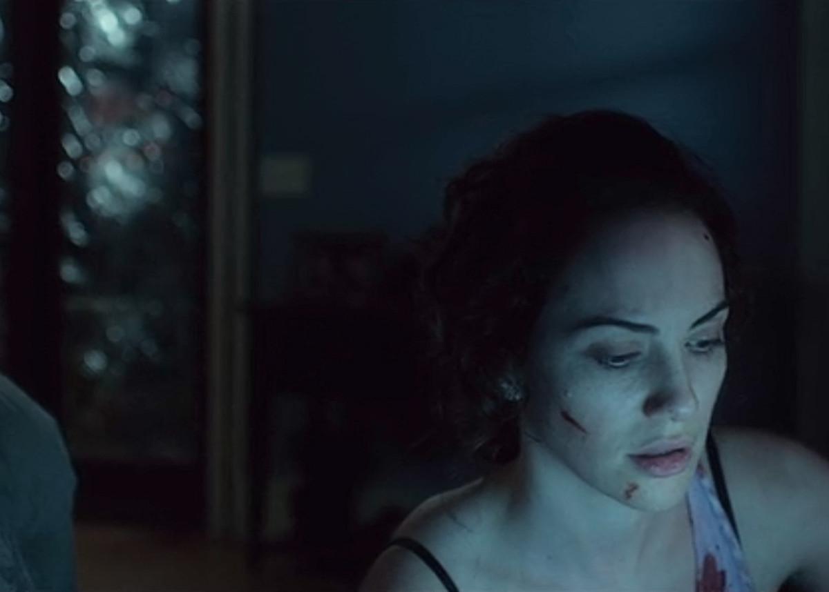Kate Siegel as Maddie in 'Hush' (2016) on Netflix.