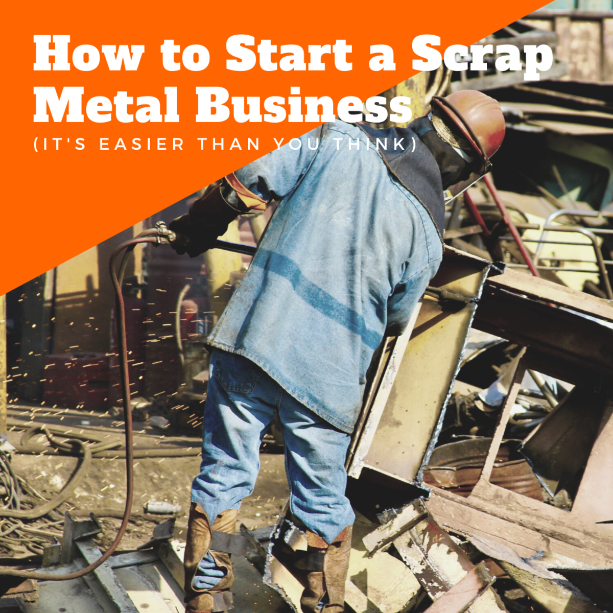Could you start your own scrap metal recycling business?