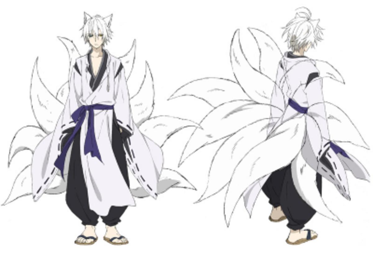 The Nine-tailed spirit fox