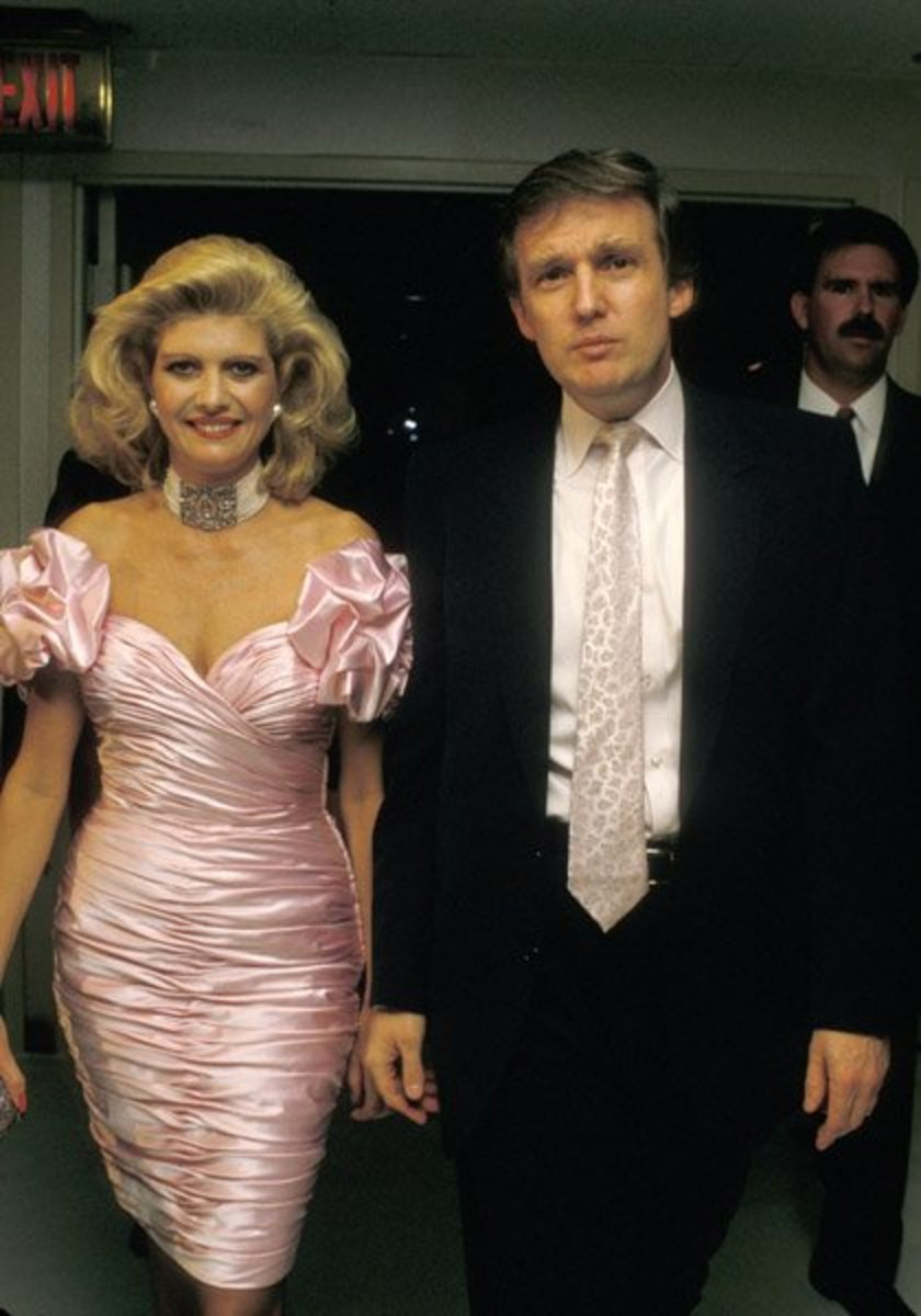 Ivana and Donald in the '80s